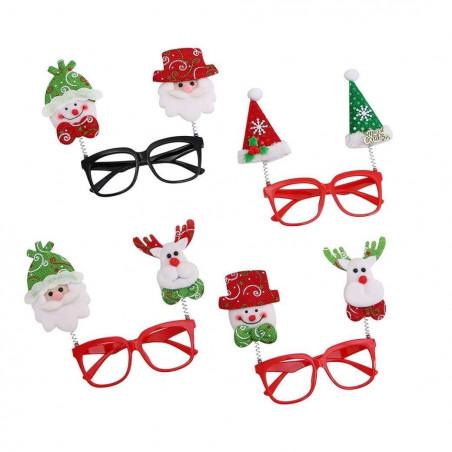 Gafas montura navidad divertidas