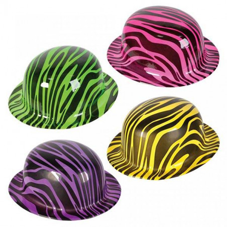 Sombrero Bombín Fluorescente animales