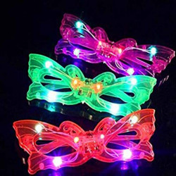 Gafas luminosas led mariposas