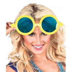 Gafas gigantes broma redondas