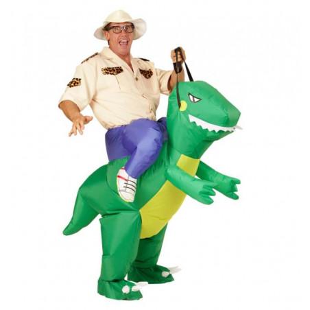 Disfraz hinchable dinosaurio fiestas