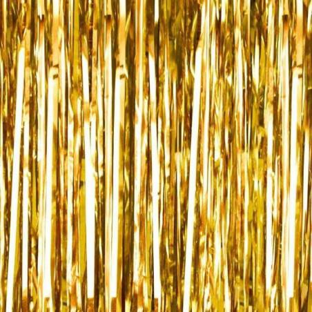 Fondo photocall cortina Foil dorado