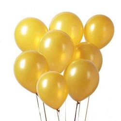 globos dorados 25cm