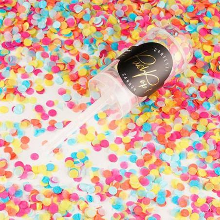 Cañones confeti push pop
