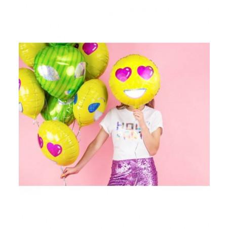 globos emoticono emoji corazones