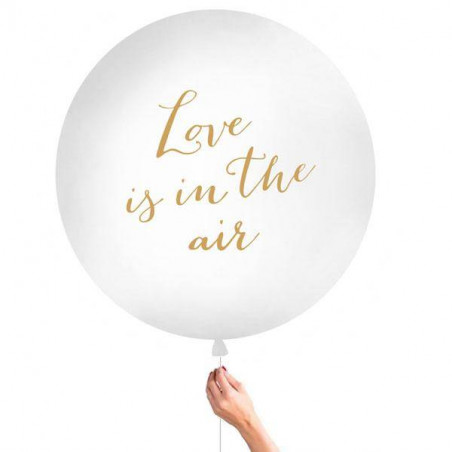Globo  gigante XL Love is in the air