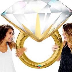 Globo anillo compromiso 95 cm