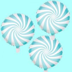 Globos Candy espiral caramelo Rosa