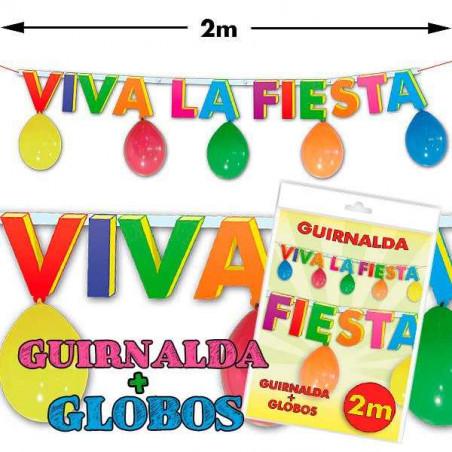 Guirnalda globos fiesta