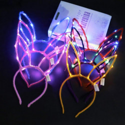 Diademas luminosas unicornio LED
