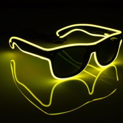 Gafas luminosas LED