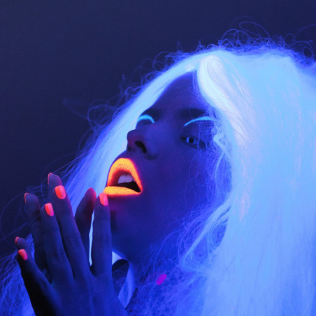 Pintalabios fluorescente UV