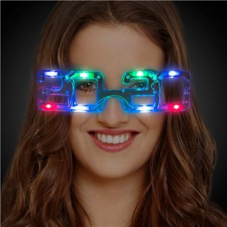 Gafas fin de año 2020 luminosas LED