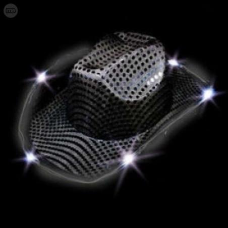 Sombrero Fiesta Luminoso LED