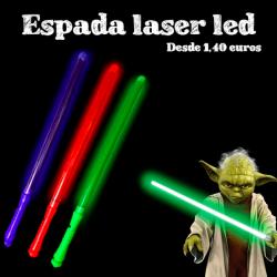 Espada Láser luz led