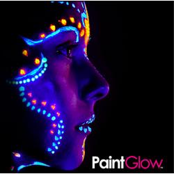 Pintura Fluorescente Ultravioleta cuerpo