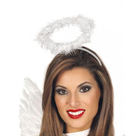 Diadema angel disfraz
