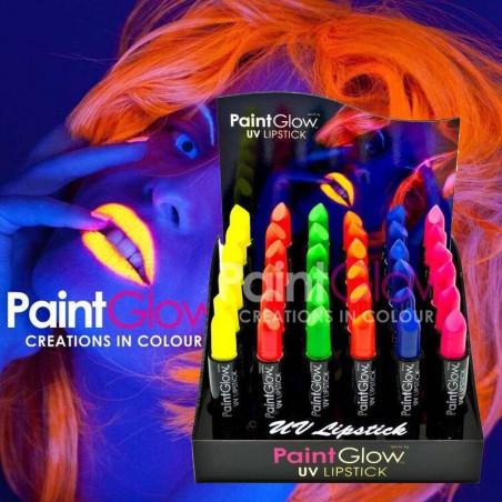 Pintalabios Neon fluorescente UV