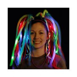 Diadema Pelo neon Luminosa