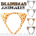 diademas animales orejas animales cebra