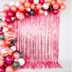 Cortina decorativa para fiestas 100x240cm