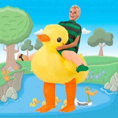 Disfraz hinchable Pato adulto