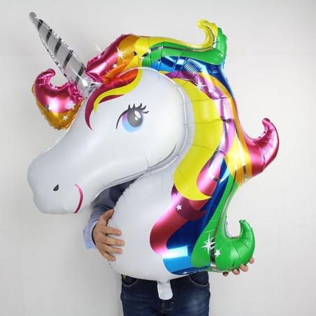 Globo unicornio Foil 75x112cm