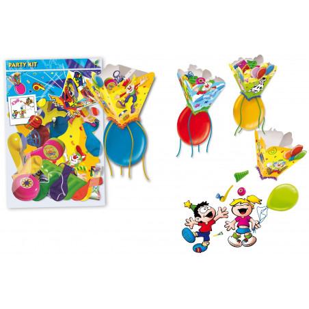 Piñata con juguetes para niños