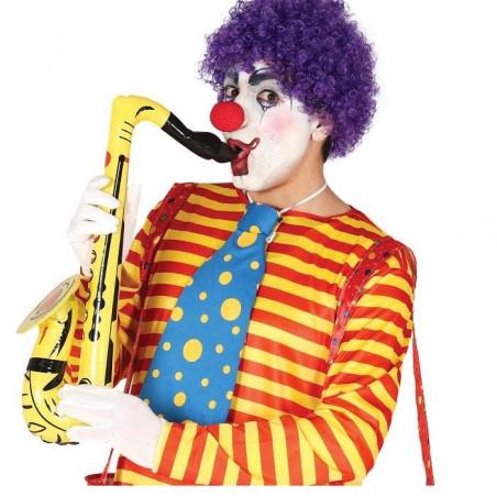 Saxofon hinchable