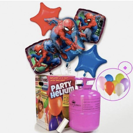 Pack helio fiesta Spiderman