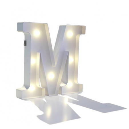 Letra luminosa inicial 28x30cm