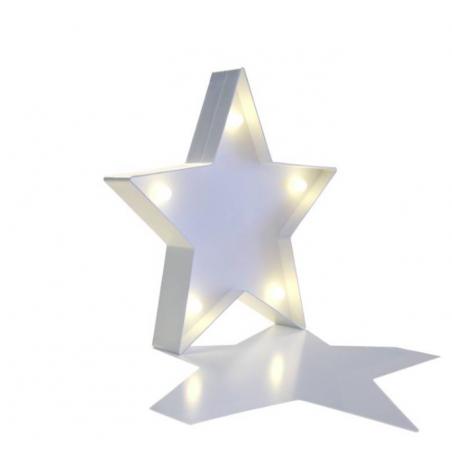 Lampara LED estrella