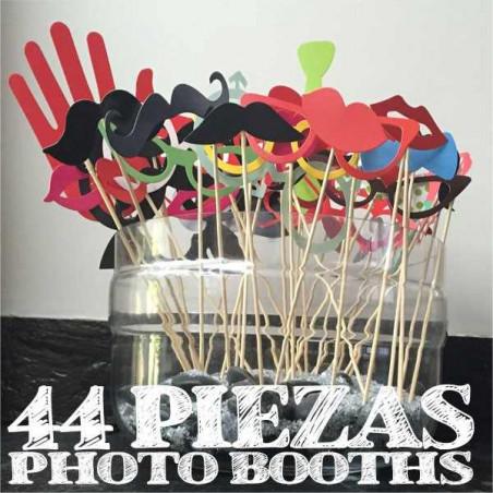 44 palillos complementos fotomaton