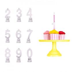 vela led tarta cumpleanos numero 9