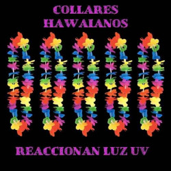 Collares hawaianos UV