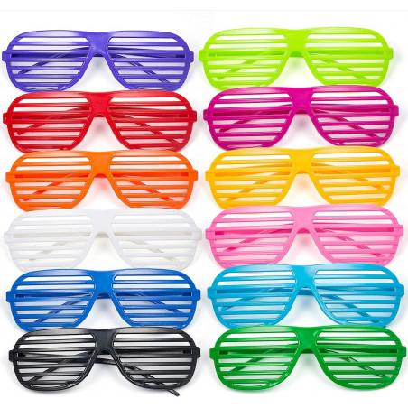 Gafas estrella rayadas