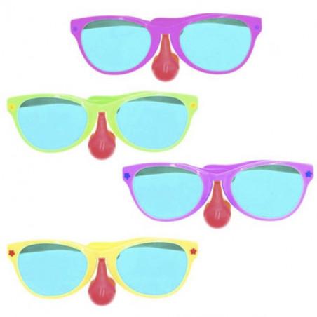 Gafas gigantes con Nariz de payaso