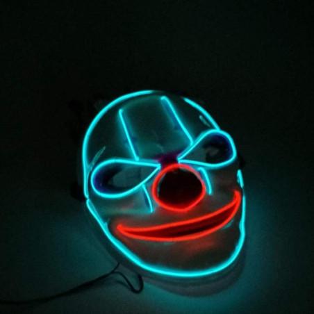 Máscara de Payaso LED