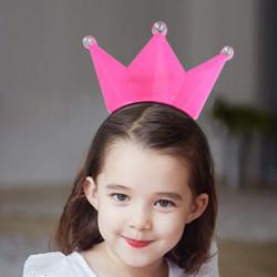 Diadema de princesa LED
