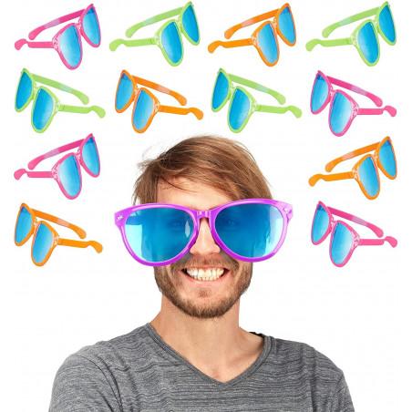 Pack 12 gafas gigantes photocall
