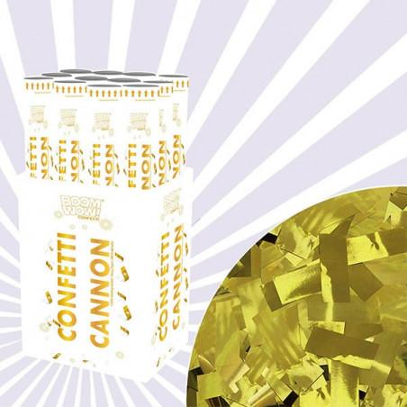 Pack 10 Cañones Confeti dorados