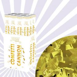 Pack de 10 Cañones Confeti para Bodas, Dorado y Plateado