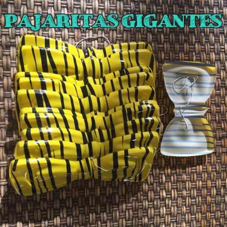 Pajaritas gigantes cebra amarillas