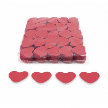 Confeti papel corazones biodegradable 1kg