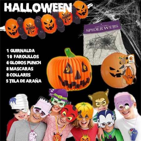 Pack fiesta Halloween decoración