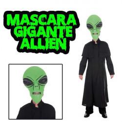 Máscara Allien gigante