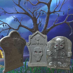 Lapida cementerio Halloween