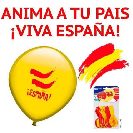 Globos bandera de España