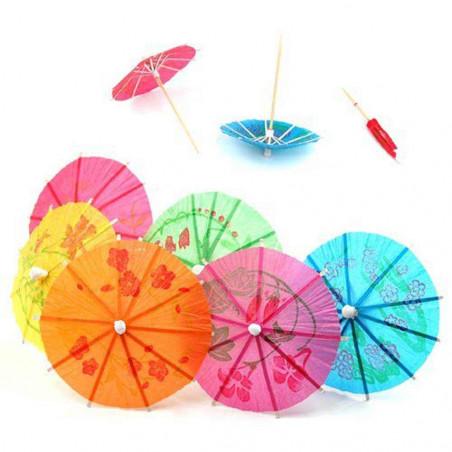 Paraguas/sombrilas para cocteles
