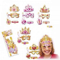 Corona y complementos princesa